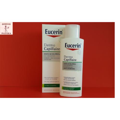 Eucerin DermoCapillare sampon zsíros korpára 250ml