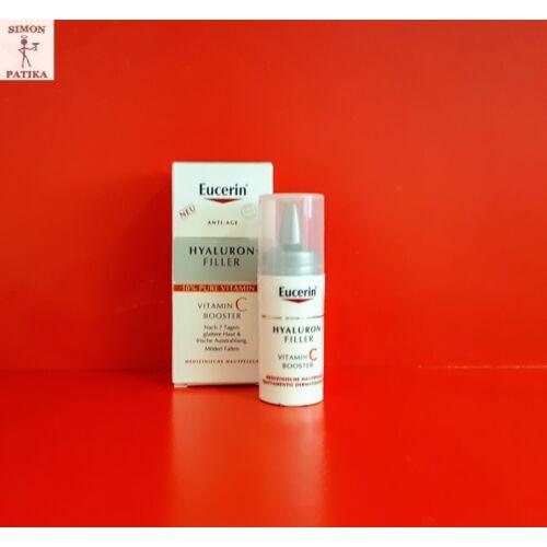 Eucerin Hyaluron-Filler Booster vitamin C szérum 3x8ml