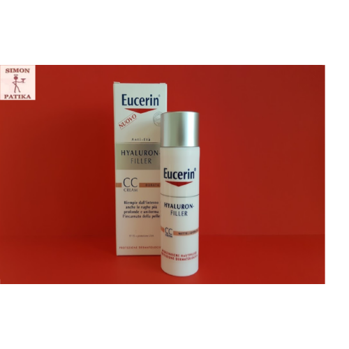 Eucerin Hyaluron-Filler CC színezett krém 50ml  /Medium/