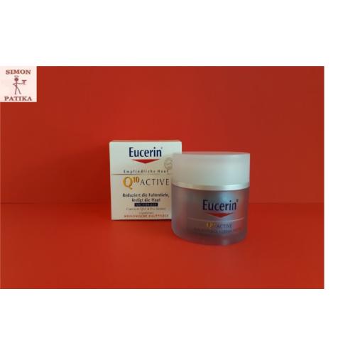 Eucerin Q10 ACTIVE Ránctalanító éjszakai arckrém 50ml