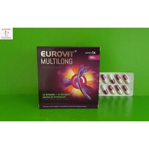 Eurovit Multilong vitamin kapszula 120db