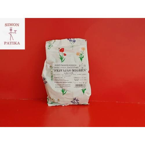 Boszy Fejfájás-Migrén tea Gyógyfű 50g