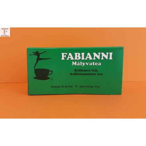 Mályva tea filteres Fabianni 20db