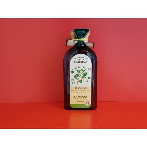 Green Pharmacy sampon korpás hajra 350ml