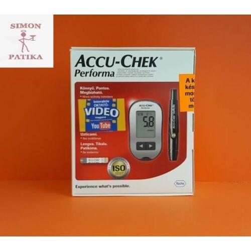 Accu-Chek Performa vércukormérő készülék