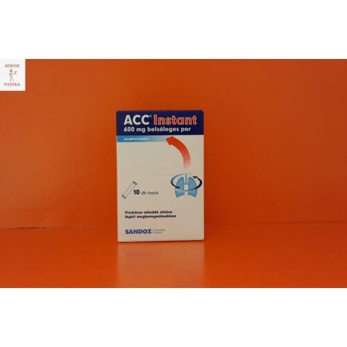 ACC Instant 600 mg belsőleges por 10db