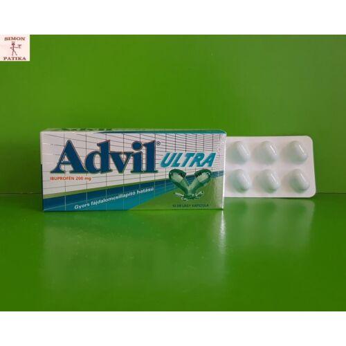 Advil Ultra lágy kapszula 10db