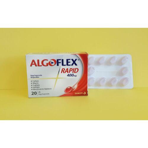 Algoflex Rapid 400 mg kapszula 20db