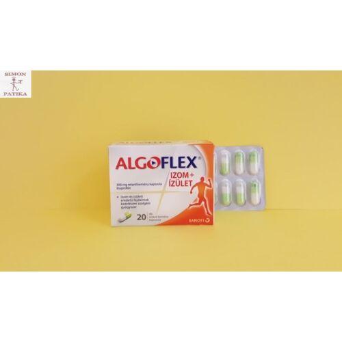 Algoflex Izom+ízület 300 mg retard kemény kapszula  20db