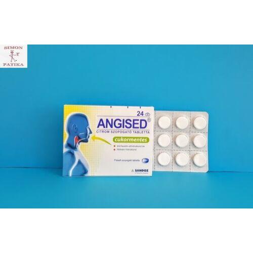 Angised Citrom szopogató tabletta 24db