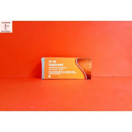 Aspicont 500 mg/50 mg tabletta 20db