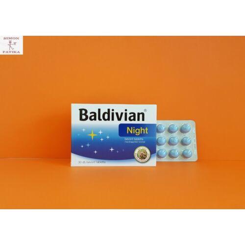 Baldivian Night bevont tabletta 30db