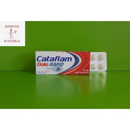 Cataflam Dolo Rapid 25 mg kapszula