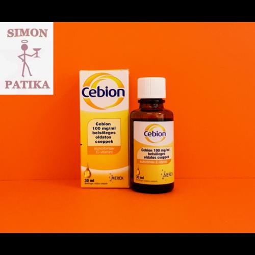 Cebion 100 mg/ml cseppek