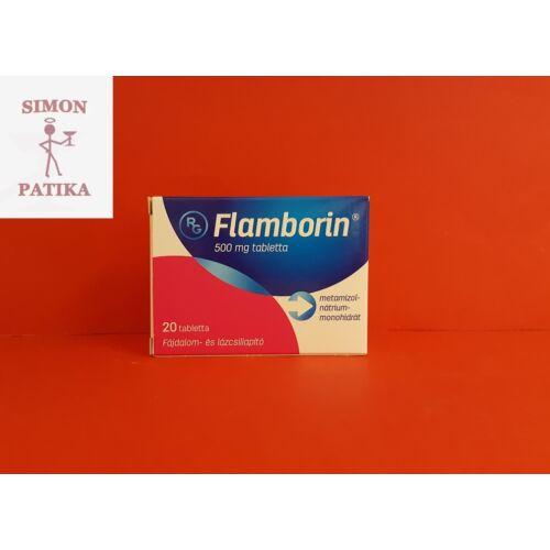 Flamborin 500 mg tabletta 20db