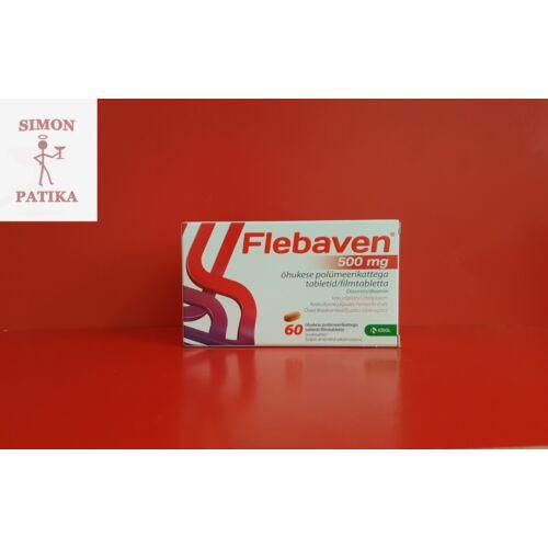 Flebaven  500 mg filmtabletta 60db