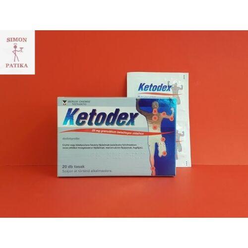 Ketodex 25 mg granulátum 20db