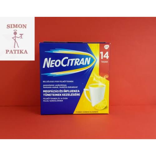 Neo Citran belsőleges por felnőtteknek 14db