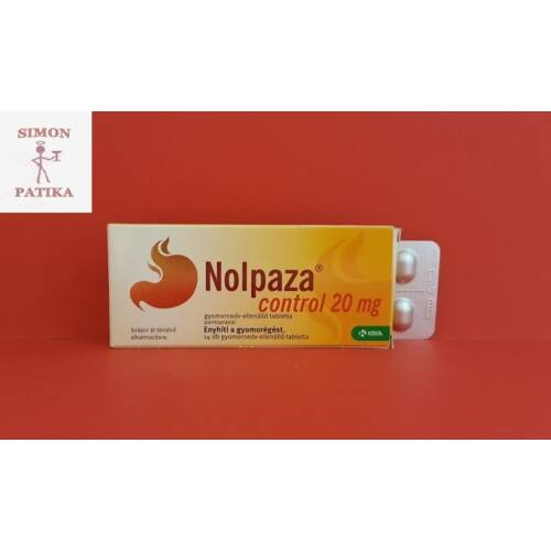 Nolpaza Control tabletta 14db