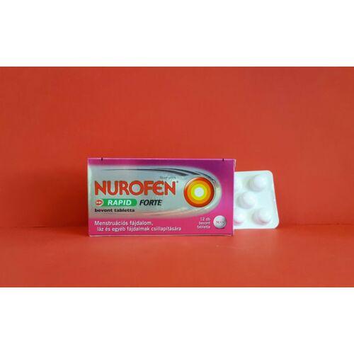 Nurofen Rapid Forte 400 mg tabletta 12db
