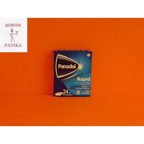 Panadol Rapid 500 mg filmtabletta 24db