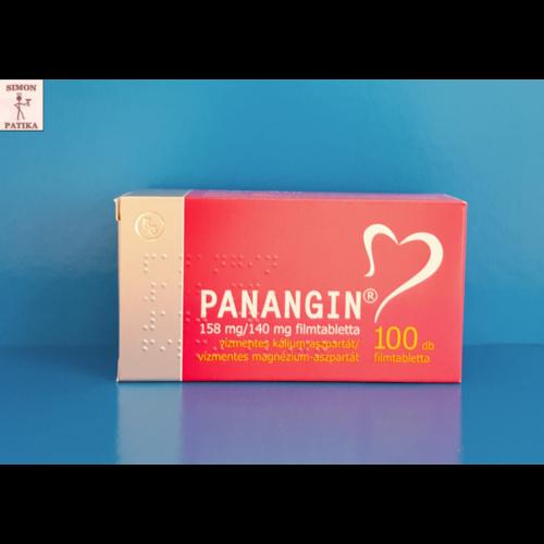 Panangin 158 mg/140 mg filmtabletta 100db