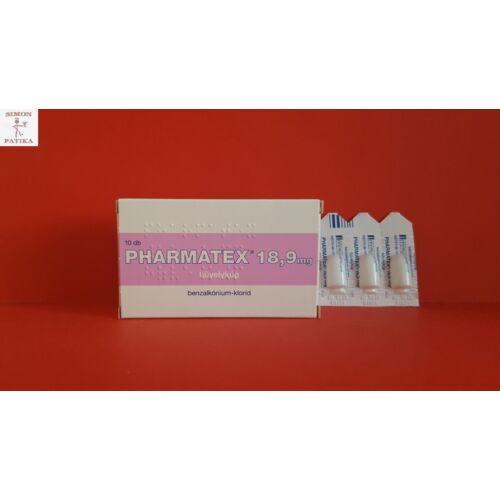 Pharmatex  18,9 mg hüvelykúp 10db