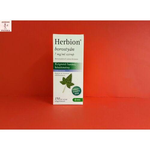 Herbion borostyán 7 mg/ml szirup 150ml