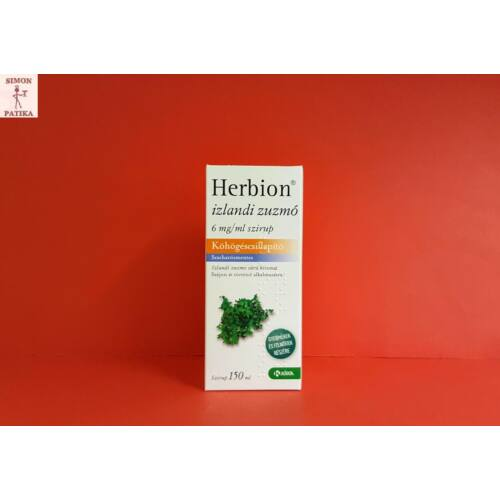 Herbion izlandi zuzmó 6 mg/ml szirup 150ml