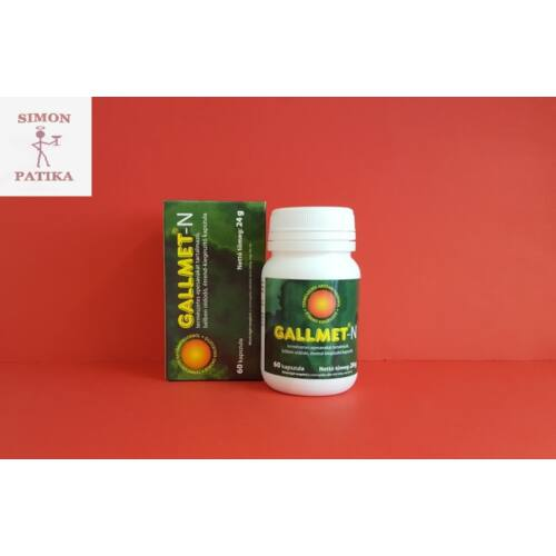 Gallmet- N kapszula 60db