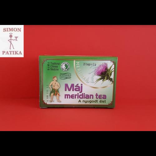 Máj Meridian tea 20db