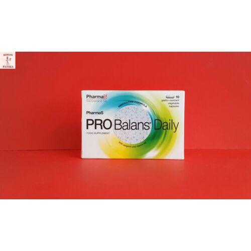 Probalans Daily kapszula PharmaS 10db