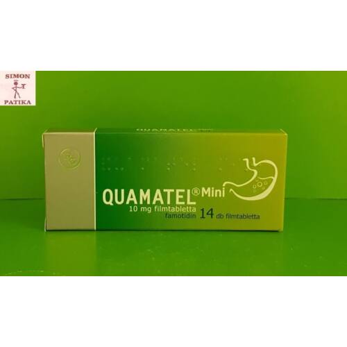 Quamatel Mini 10 mg filmtabletta 14x