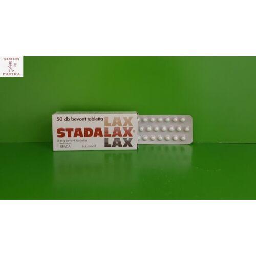 Stadalax 5 mg bevont tabletta 50db