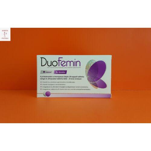 DuoFemin étrendkiegészítő tabletta 28 + 28 db