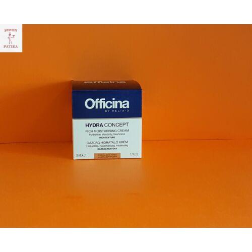 Officina by Helia-D Hydra Concept arckrém gazdag hidratáló
