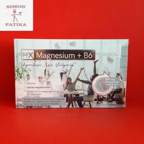 Helvex Magnesium+B6 kapszula 60db