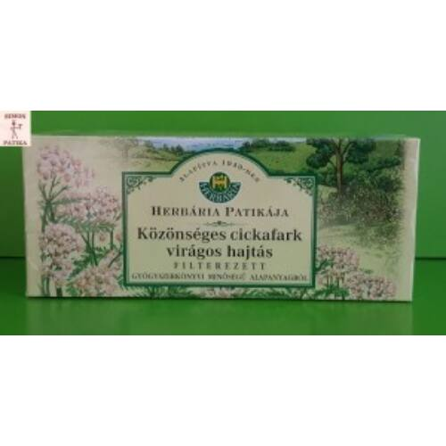 Herbária Közönséges Cickafark virágos hajtás filteres 25db