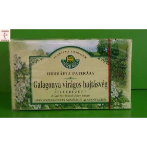 Herbária Galagonya virágos hajtásvég filteres tea 20db