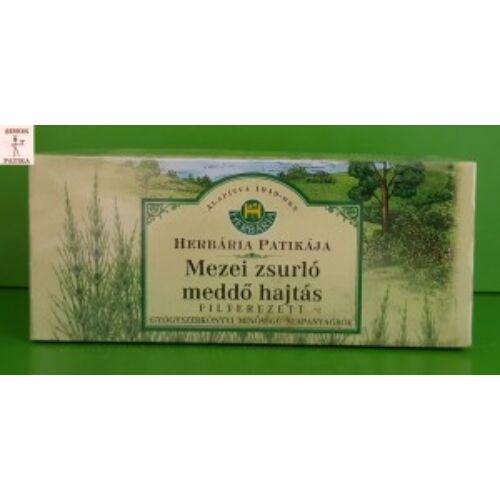 Herbária Mezei zsurló meddő hajtás filteres tea 25db