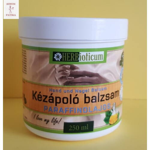 Herbioticum Kézápoló balzsam paraffin olajos 250ml