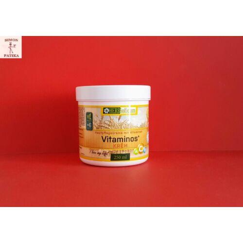 Herbioticum Vitaminos bőrtápláló krém 250ml