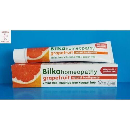 Bilka homeopátiás fogkrém Grapefruit ízesítéssel 75 ml