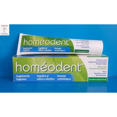 Homéodent fogfehérítő fogkrém 75 ml