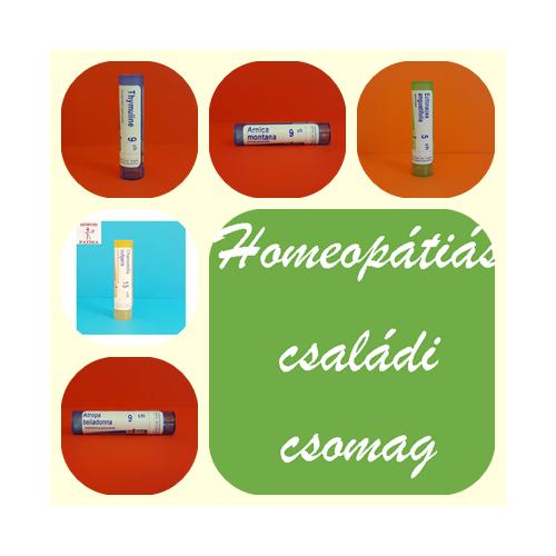Homeopátiás Családi csomag