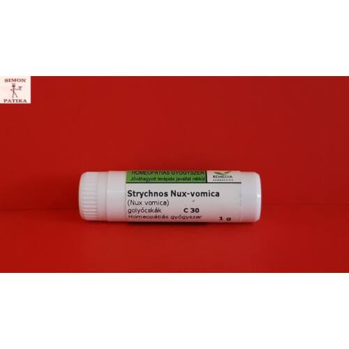 Strychnos nux vomica C30 Remedia 1g