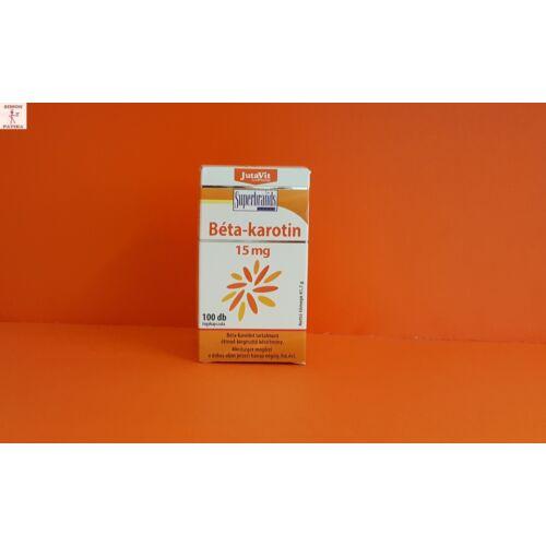 JutaVit Béta-karotin 15 mg kapszula