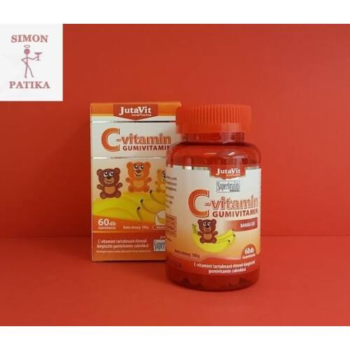 JutaVit C-vitamin gumivitamin 60db