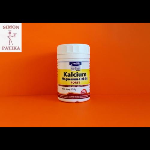 Jutavit Kalcium+ Magnézium+ Cink+  D3 Forte tabletta 90db