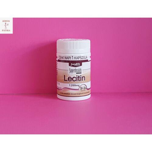 JutaVit Lecitin 1200 mg kapszula 40db